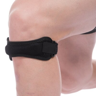 Накладка под колено Mute 9106 регулируемый размер полиамид, спандекс