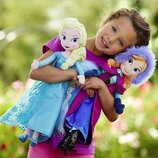 Мягкая кукла Эльза, Анна 38 см, новая