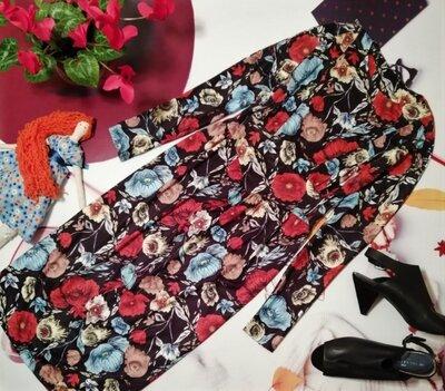 Красивое платье с длинным рукавом Zara , размер S, Морокко