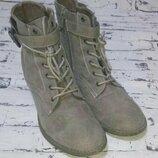 Демисезонные полусапожки,ботинки.германия Graceland