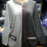 Женские туники рубашки для пышных форм размер 52-54, 56-58, 60-62, 64-66.
