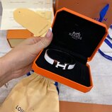 Браслет Hermes Clic Clac H Blanc