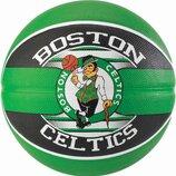 Мяч баскетбольный Spalding NBA Team Boston Celtics Size 7
