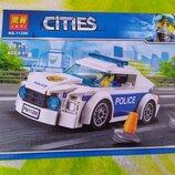 Лего полиция полицейская машина новый