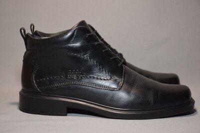 Ботинки Ecco GTX Gore-Tex мужские кожаные. Оригинал. 41 р./26.5 см.