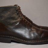 Ботинки Heschung мужские кожаные. Франция. Оригинал. 44-45 р./30 см.