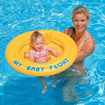 Детский надувной плотик для плавания INTEX 56585 , круг для купания
