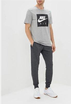 Стильные меланжевые джогеры, спортивные штаны, брюки от Nike, оригинал