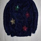 Джемпер травка свитерок звезды