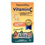 Natures Plus витамин C жевательная добавка для детей парад животных Source of Life Animal Parade