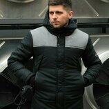 Куртка мужская весенняя ALLEN черно-серый