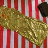 Крутое нереальное платье /спинка в пайетки Millenium