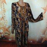 Трикотажное платье 58-60р