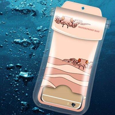 Водонепроницаемый чехол для телефона смартфона на айфон для документов универсальный