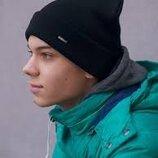 Трендовый комплект шапка/чулок и шарф/хомут Новый комплект