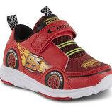 Кроссовки светящиеся DISNEY тачки McQueen. Размер 27, 5 - 30 Оригинал. Сша.