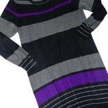Шикарное вязаное платье - XXL - XL - L