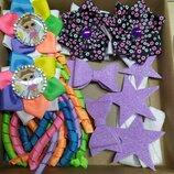 Подарочные наборы заколок-украшений для девочек