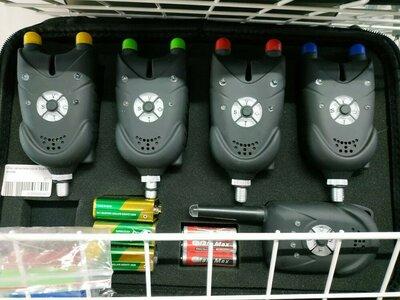 Набор сигнализаторов поклёвки с пейджером