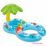Надувной плотик для плавания «Мама и ребенок»