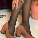 Женские туфли, замш