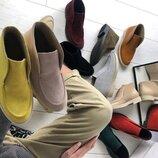 Супер новинка Элегантные натуральные кожаные женские лоферы слипоны мокасины Loro Piana