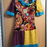 Яркое платьеце Abitart, размер 42.