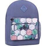 Рюкзак городской Bagland Молодежный 17 л. с принтом мужской женский детский для девочки