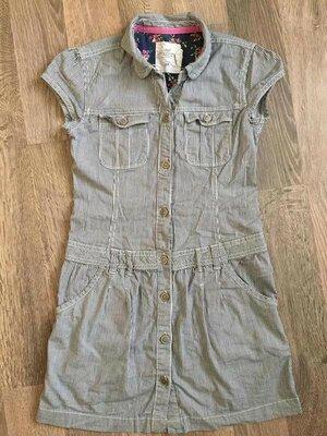 Сарафан, сарафанчик, плаття, платтячко, платье, полоска, 9-10, 140 см