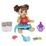 Baby Alive Интерактивная кукла пупс Голодный ребенок E4895 Happy Hungry Baby Doll