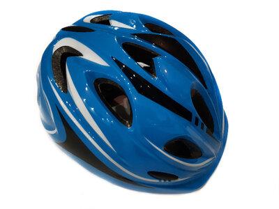 Продано: Велосипедный детский шлем Sports Helmet размер S-M Синий F18476