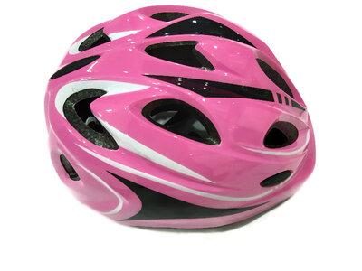 Велосипедный детский шлем Sports Helmet размер S-M Розовый F18476