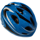 Велосипедный детский шлем Sports Helmet размер S-M Синий F18476