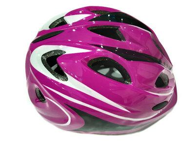 Велосипедный детский шлем Sports Helmet размер S-M фиолетовый F18476