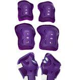 Комплект защиты Sports Helmet 3 в 1 размер S-M Фиолетовый С34590