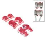 Комплект защиты Sports Helmet 3 в 1 размер S-M розовый С34590