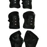 Комплект защиты Sports Helmet 3 в 1 размер S-M черный С34590