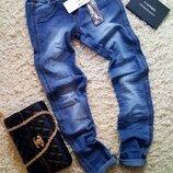 Брендові штани джинсові жіночі Terranova Denim XXS-S Італія брюки джинсы женские