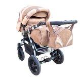 Универсальная коляска-трансформер Trans Baby Prado Lux Len
