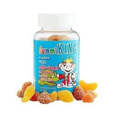 Gummi King Мультивитамины и минералы для детей 60 шт Multi-Vitamin and Mineral Vegetables
