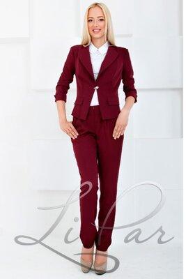 Женские брюки из костюмной ткани. Разные цвета и размеры