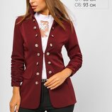 Женский пиджак на пуговицах. Разные цвета и размеры