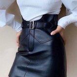 Модная кожаная юбка Еster