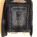 Байкерская куртка,бомбер,джинсовка