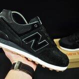 кроссовки New Balance 574 арт 20706 мужские, черные