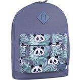 Рюкзак городской Bagland Молодежный 17 л. с принтом панда панды женский детский для девочки