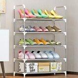 Полка стеллаж для обуви 5 ярусов