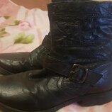 мужские ботинки Сапоги нат.кожа
