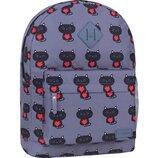 Качественный городской рюкзак Bagland 17 л принт коты котята кошечки и женский для девочек детский