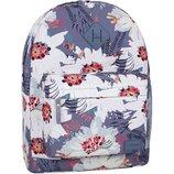 Качественный городской рюкзак Bagland 17 л принт цветы женский для девочек детский